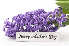 Jour heureux du ` s de mère, carte de voeux Image stock