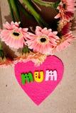 Jour heureux du ` s de mère - maman Photo libre de droits