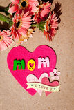 Jour heureux du ` s de mère - maman Photographie stock libre de droits