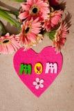 Jour heureux du ` s de mère - maman Images stock