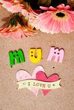 Jour heureux du ` s de mère - maman Photos libres de droits