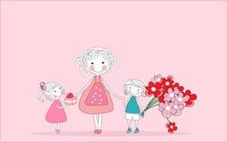 Jour heureux du `s de mère Photographie stock libre de droits