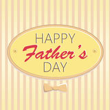 Jour heureux du ` s de père Photos libres de droits
