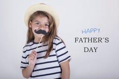 Jour heureux du ` s de père image stock
