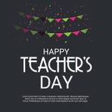 Jour heureux du ` s de professeur Images libres de droits