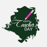 Jour heureux du ` s de professeur Image libre de droits