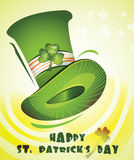 Jour heureux du `s de St.Patrick Photographie stock libre de droits