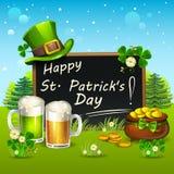 Jour heureux du ` s de St Patrick Images libres de droits