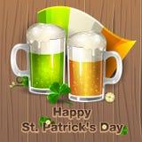Jour heureux 2 du ` s de St Patrick Photos stock