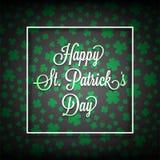Jour heureux du ` s de St Patrick Photos libres de droits