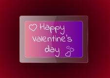 Jour heureux du `s de Valentine Photographie stock
