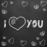 Jour heureux du `s de Valentine illustration de vecteur