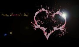 Jour heureux du _ s de Valentine illustration libre de droits