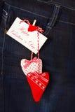 Jour heureux du ` s de valentine Photographie stock libre de droits