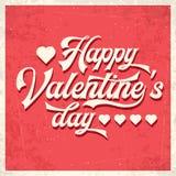 Jour heureux du `s de Valentine illustration stock