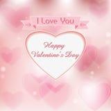 Jour heureux pour l'amour Image libre de droits