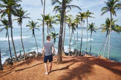 Jour idyllique dans la destination tropicale images libres de droits
