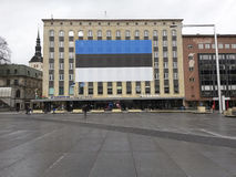 Jour indépendant de l'Estonie image libre de droits
