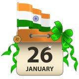 Jour indien de République photo stock