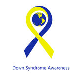 Jour international de conscience de syndrome de Down illustration libre de droits