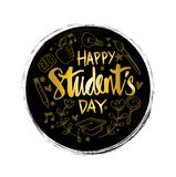 Jour international de ` d'étudiants illustration stock