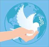 Jour international de paix Photographie stock libre de droits