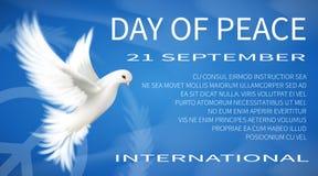 Jour international de paix Image libre de droits