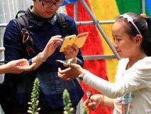 Jour international heureux du ` s d'enfants ! Images libres de droits