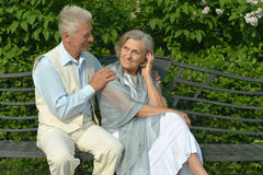 Jour mûr de couples au printemps Photo libre de droits