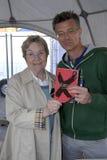 JOUR _MS DE LECTURE DE DENMARKS MINISTRE DE MARIANNE JELVED Photographie stock libre de droits