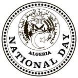 Jour national Algérie Photos stock