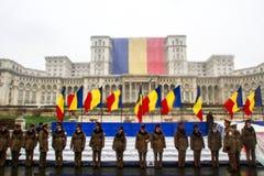 Jour national de défilé militaire Photographie stock