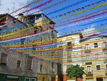 Jour national de la Catalogne à Olot Photos libres de droits