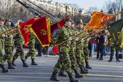 Jour national de la Roumanie Image stock