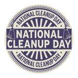 Jour national de nettoyage illustration libre de droits