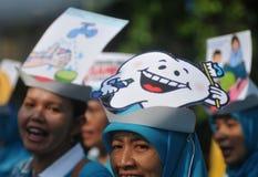Jour national de santé en Indonésie Image libre de droits