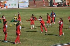Jour national de sport en Indonésie photos libres de droits