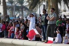 Jour national du Qatar, Doha Photos stock