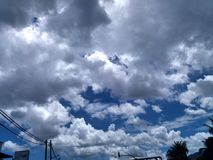 jour nuageux Image stock