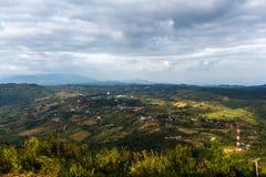 Jour nuageux de kor de Khao Image stock