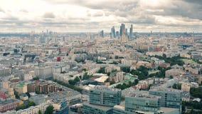 Jour nuageux ? Moscou banque de vidéos