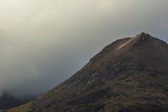 Jour nuageux sur la huche Goch Image libre de droits