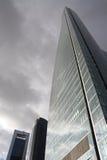Jour orageux sur la ville Photo libre de droits