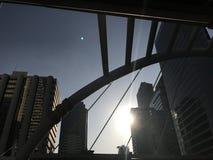 Jour ouvrable de Bangkok de ciel image libre de droits