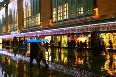 Jour pluvieux à la Haye Images libres de droits