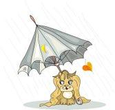 Jour pluvieux Images libres de droits