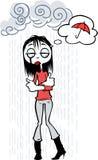 Jour pluvieux illustration de vecteur