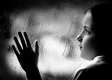Jour pluvieux Image stock