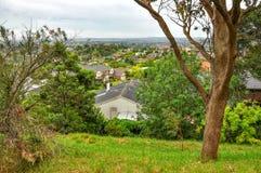 Jour pluvieux en parc Wilson l'australie photos stock