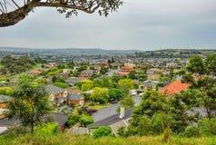 Jour pluvieux en parc Wilson l'australie image stock